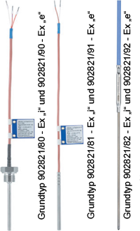 ATEX/IECEx RTD Temperature Probe with Connecting Cable Acc. to DIN EN 60751 (902821)