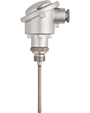 Mineral-Insulated Thermocouples with Form B Terminal Head According to DIN 43710 and DIN EN 60584 (901210)